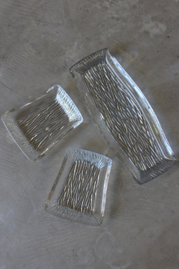 Retro Glass Serving Dishes