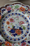 Pair Antique Hicks Meigh & Johnson Plates - Kernow Furniture