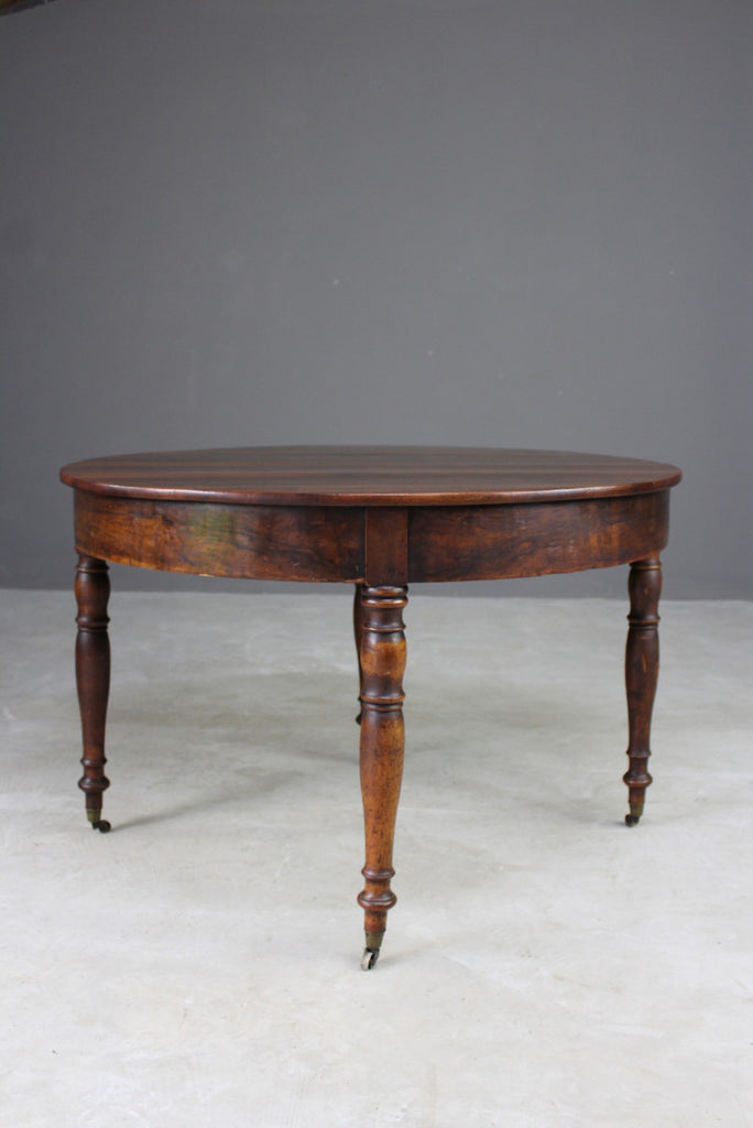 Antique French Fold Over Table - Kernow Furniture