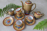 Japanese Chikaramachi Thousand Faces Coffee Set