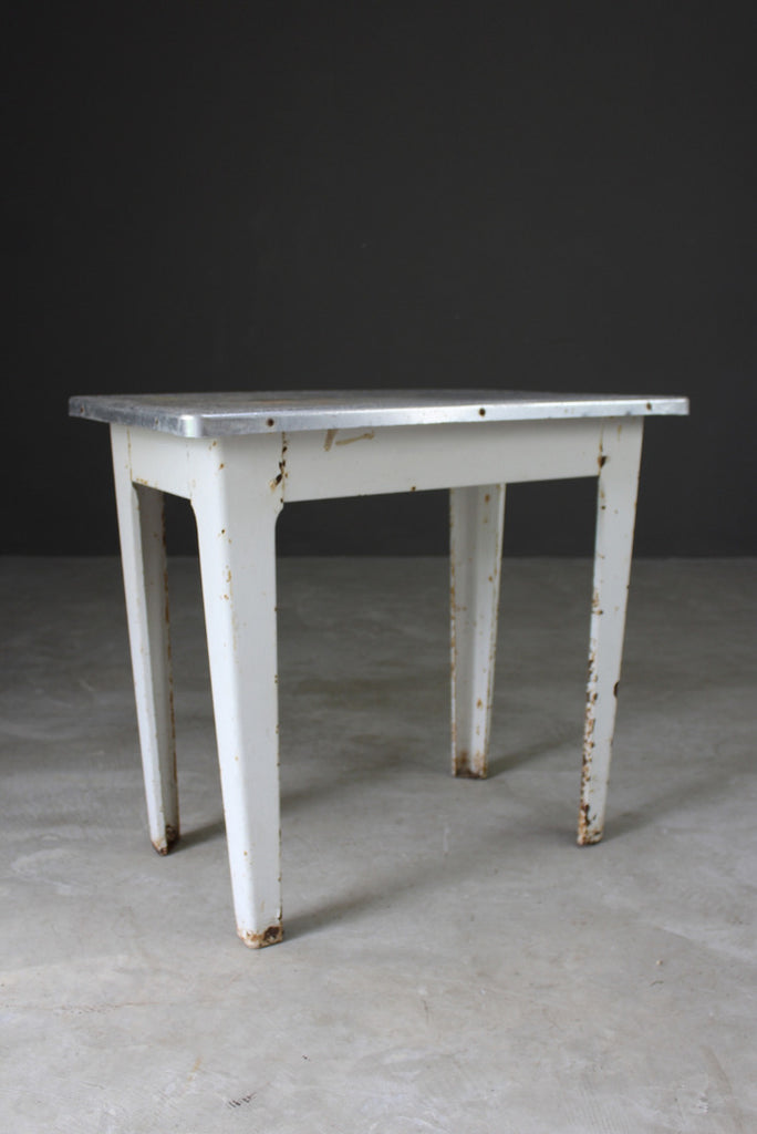 Vintage Aluminium Table