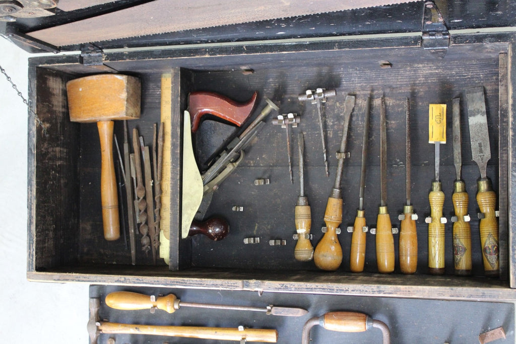 Vintage GTL Tool Box - Kernow Furniture