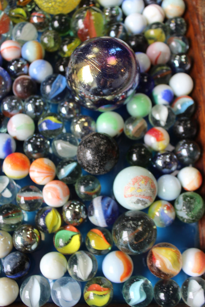 Collection Vintage Marbles