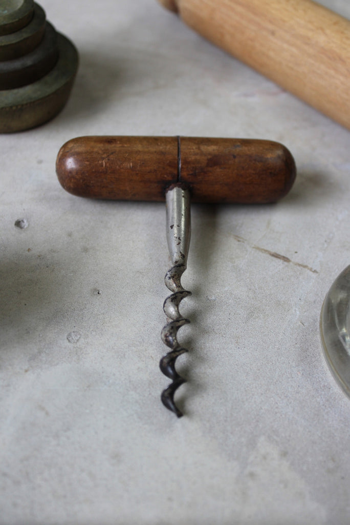 Collection Vintage Kitchenalia Butter Mould Corkscrew - Kernow Furniture