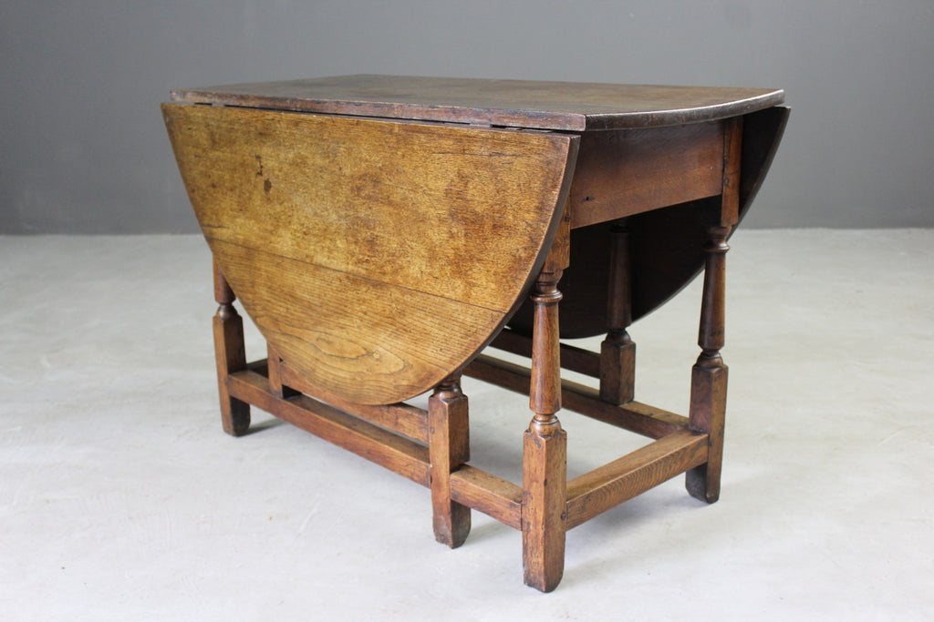 Oak Gate Leg Table - Kernow Furniture