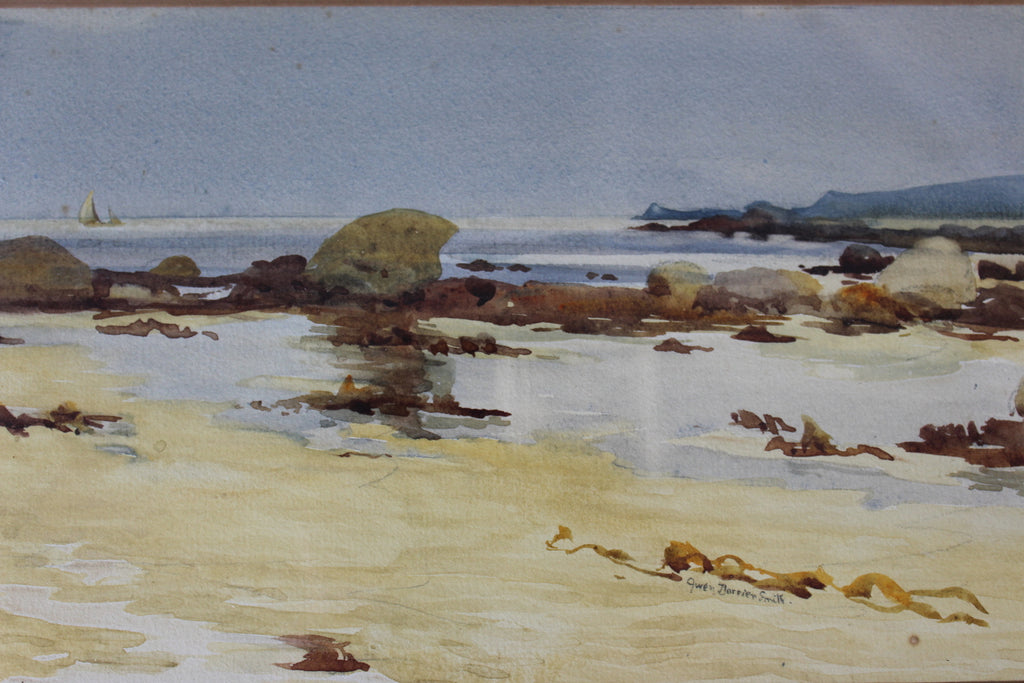 gwen dorrien smith watercolour landscape seascape painting