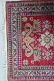 Indian Red Rug
