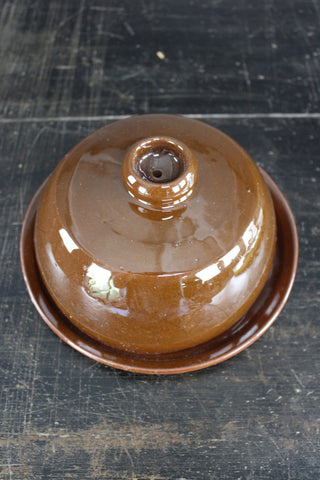 Earthenware Cheese Dome - Kernow Furniture