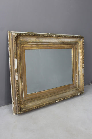 Antique Giltwood Mirror - vintage retro and antique furniture