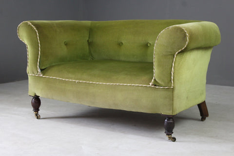 Small Green Chesterfield Sofa