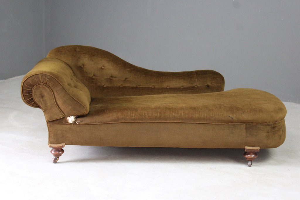 antique chaise longue day bed sofa