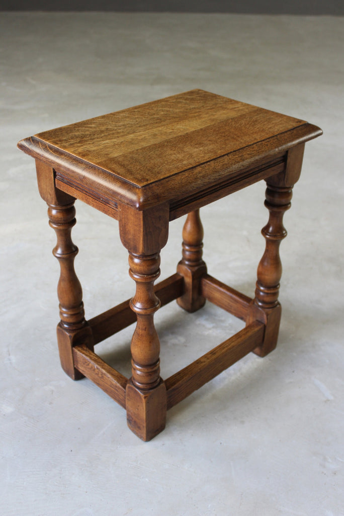 oak joint stool