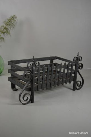 Large Fire Basket Grate - Kernow Furniture 100s vintage, retro & antique items in stock