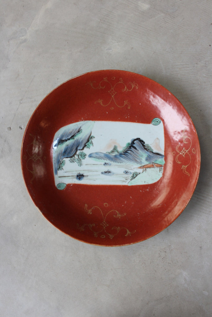 antique chinese charger plate