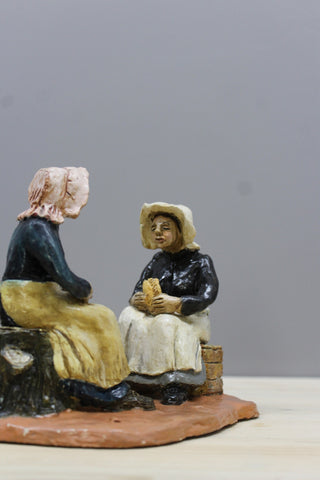 Bal Maids Cornish Pottery Figures - Kernow Furniture