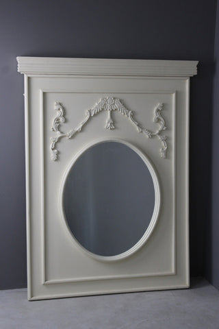 Large French Style Overmantle Mirror