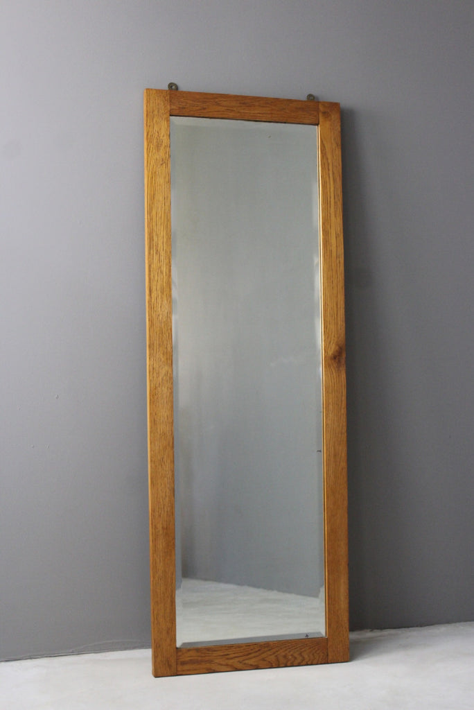 Oak Wall Mirror - Kernow Furniture