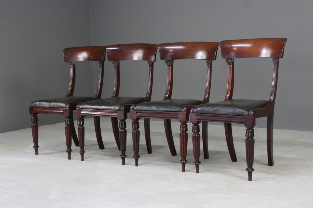 antique mahogany dining chairs
