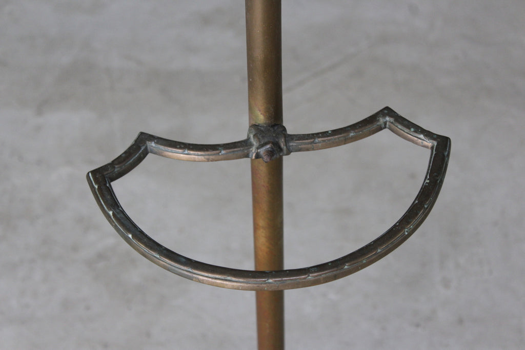 Brass Ecclesiastical Stick Stand - Kernow Furniture