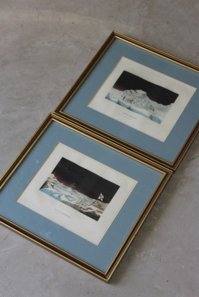 Antique Lithographs Arctic Exploration
