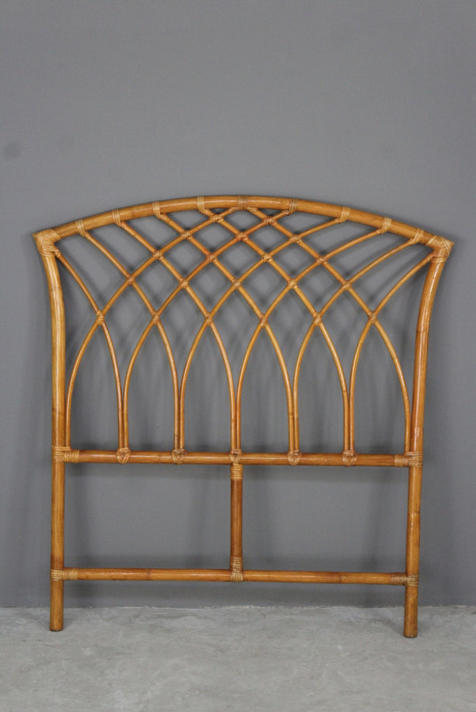 Retro Cane Single Headboard