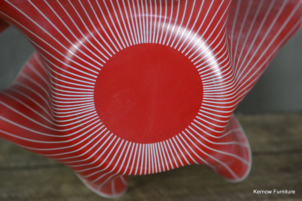 Large Chance Glass Red Hankerchief - Kernow Furniture