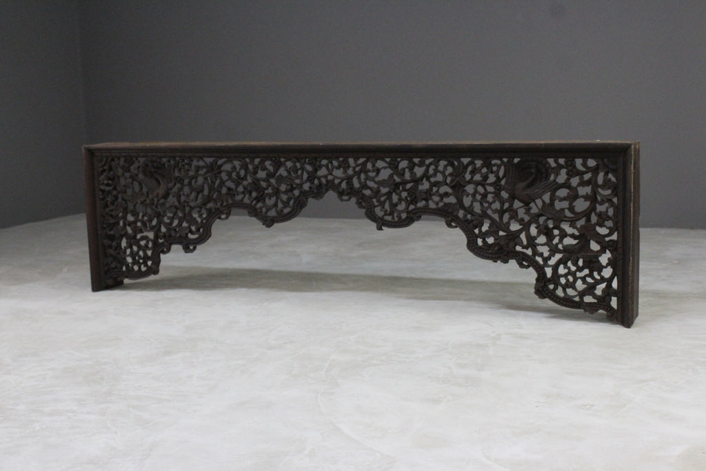 Burmese Carved Arch - Kernow Furniture