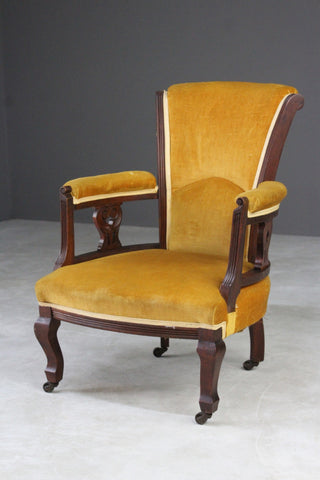 Edwardian Small Armchair