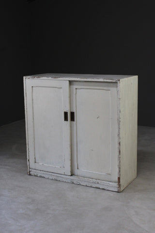 Vintage Pine British Rail Cupboard