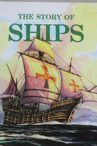 The Story of Ships - G Fouille Vintage Childs Book - Kernow Furniture