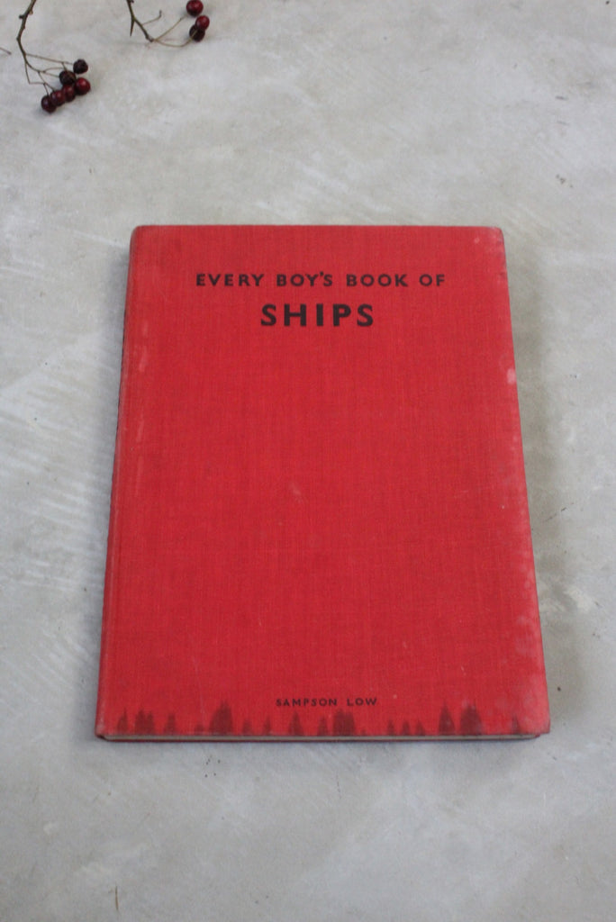 Every Boys Book of Ships - Kernow Furniture