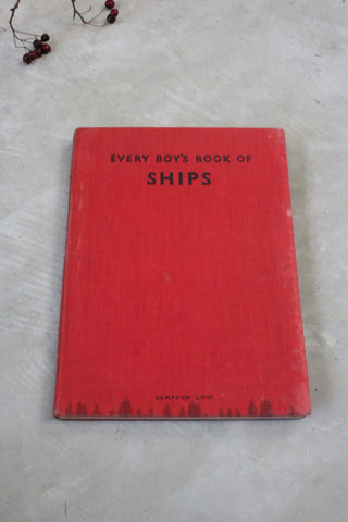 Every Boys Book of Ships