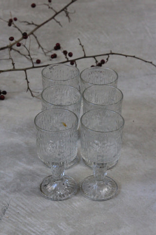 6 Ravenhead Wine Glasses
