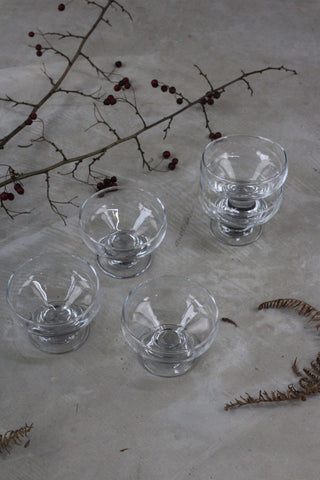 5 Glass Dessert Bowls
