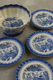 Copeland Spode Willow Mandarin Dessert Set