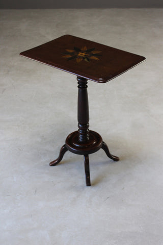 Antique Parquetry Wine Table