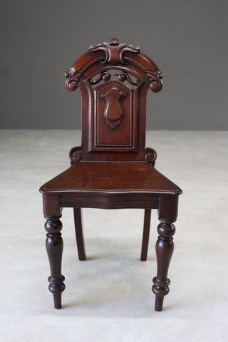Antique Victorian Hall Chair