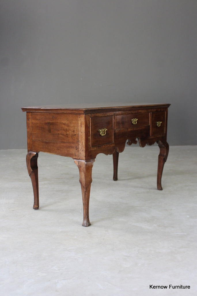 Antique Georgian Low Boy - vintage retro and antique furniture