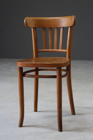Single Vintage Bentwood Dining Chair