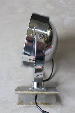 Retro Chrome Floodlight Lamp - Kernow Furniture