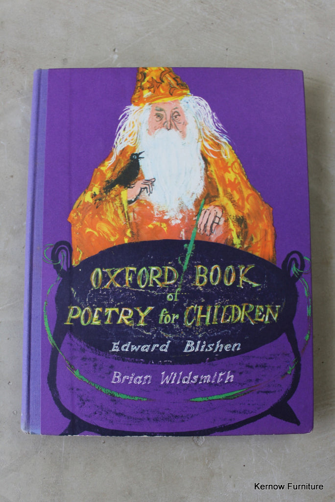 Oxford Book of Poetry for Children Edward Blishen - Kernow Furniture