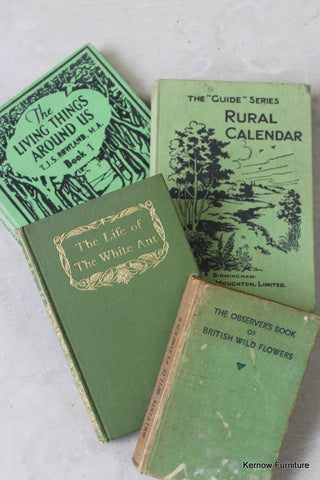 Collection of Vintage Nature Books