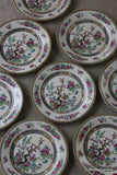 9 Wedgwood Indian Tree Breakfast Plate