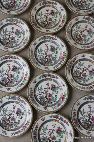12 Bridgwood Indian Tree Side Plates - Kernow Furniture