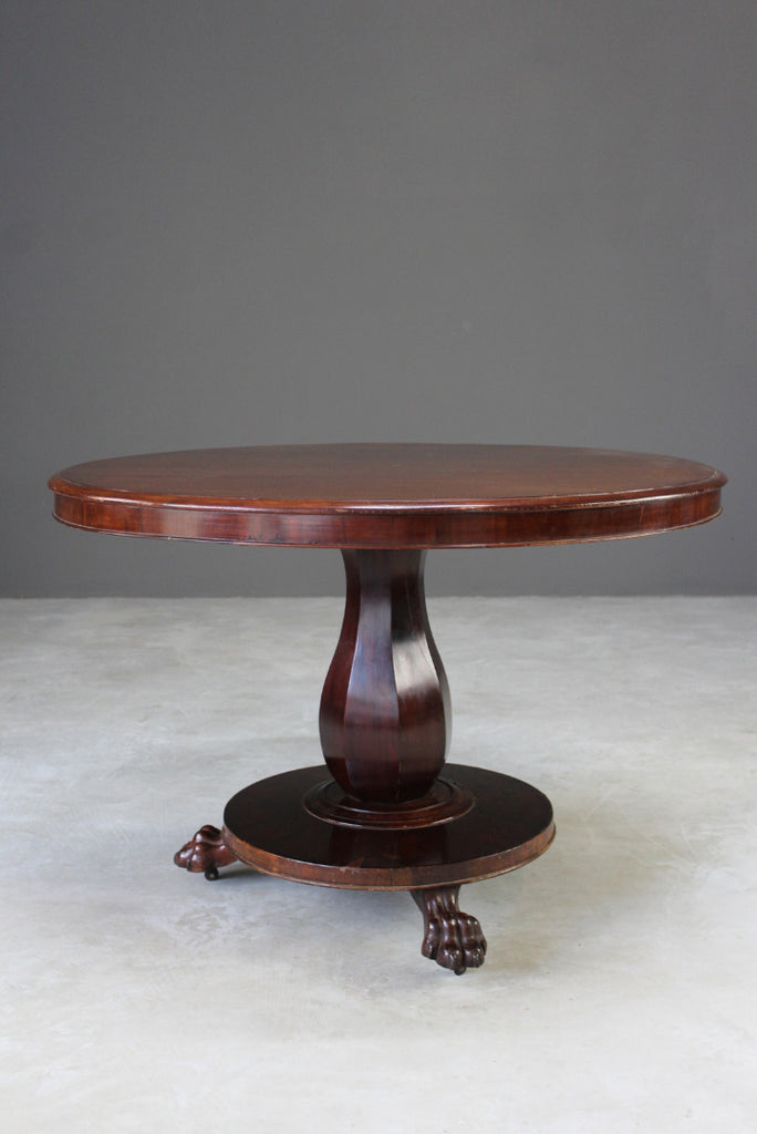Victorian Round Breakfast Table