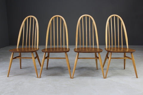 4 Retro Ercol Dining Chairs