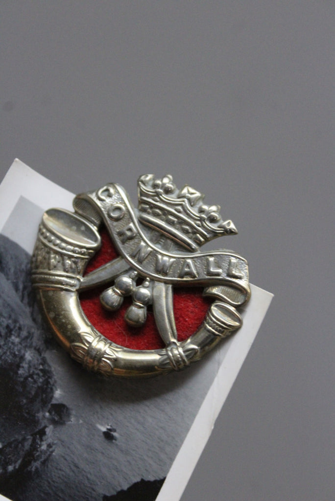 Cornwall Light Infantry Cap Badge