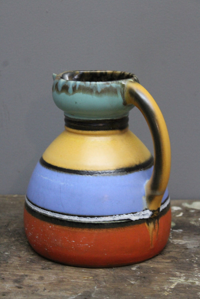 Stripe Pottery Jug