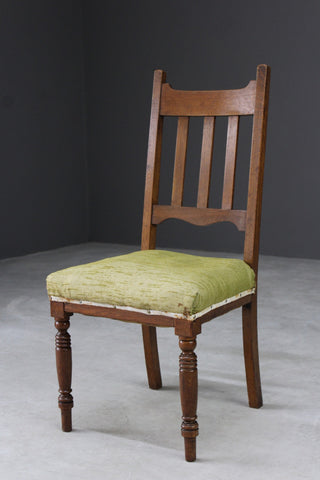 Single Oak Edwardian Dining Chair
