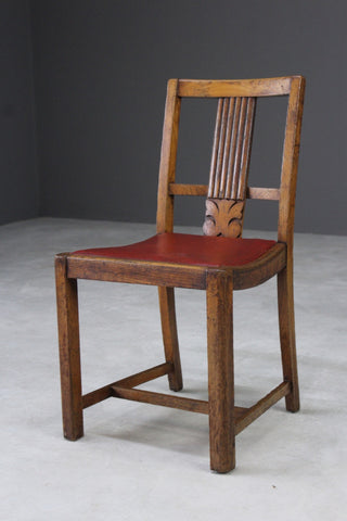 1950s Oak Dining Chair